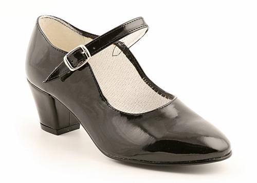 Zapato de sevillana de charol