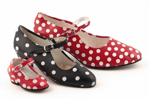 Zapato de sevillana